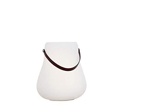 NORDIC D'LUXX - LED-Lampe mit Bluetooth-Lautsprecher/Gebrauch: Blumentopf und Pflanzen, Eiskübel, Weinkühler (L)