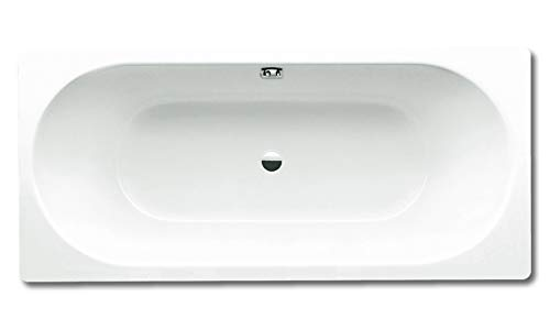 Kaldewei Stahl-Email Einbauwanne CLASSIC DUO Nr. 110, 180x80 cm, weiß