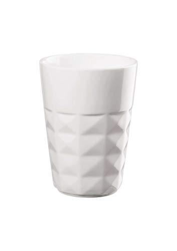 ASA Lot de 2 tasses à cappuccino Blanc 8 cm Hauteur 10,7 cm 0,25 l 59030017 Neuheit 2020