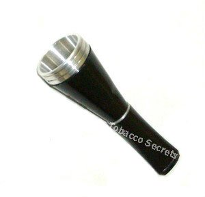 Black Medico Cigar Holder - Small Sized