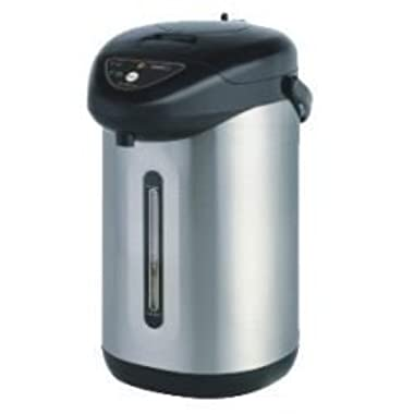Eurolux EL5053S Stainless Steel Hot Pot, Charcoal Grey
