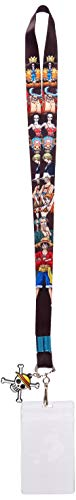 One Piece Onepiece - Straw Hat Crew Line-Up Lanyard Anime Keychain