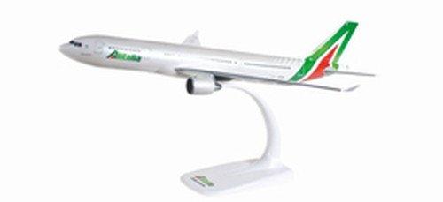 Herpa zum Basteln, Sammeln und Als Geschenk 610933-Alitalia Airbus A330-200, Miniatura per bricolage, Collezione e Regalo, Multicolore, 610933