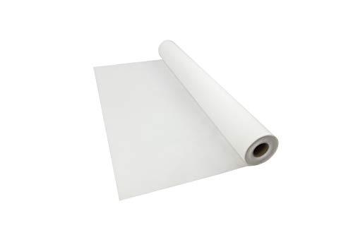 Sensalux B1 Tischdeckenrolle, Standard 100 by Oeko-TEX® - Klasse I, 1,5m x 25m, Tischtuch, schwer entflammbar, stoffähnliches Vlies, weiß