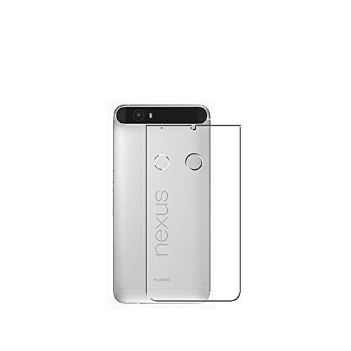 Vaxson 2 Stück Rückseite Schutzfolie, kompatibel mit Google Nexus 6P HUAWEI, Backcover Skin TPU Folie [nicht Panzerglas/nicht Front Bildschirmschutzfolie]