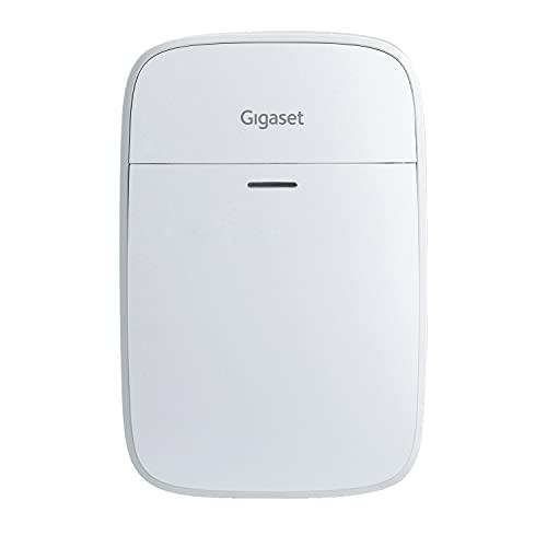 Gigaset Motion - Smart-Home Set Ergänzung - Bewegungssensor für größere Häuser & Wohnungen - Infrarot-Bewegungsmelder - unempfindlich gegenüber Tieren - batteriebetrieben - App Steuerung, weiß