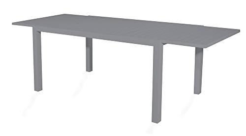 VERDELOOK Tavolo sardegna grigio allungabile da 200 a 300 x100xh74cm