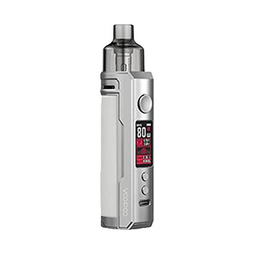 VOOPOO Drag X Mod Pod Kit 80W 4.5ml PnP Pod Réservoir GENE.TT Puce E-cig Cigarette Électronique Vaporisateur Pod Système Vape Kit Sliver White