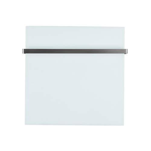 Infrarot-Heizung Heiz-Paneel 100W 50x32cm Elektroheizung Glas Panel Weiß Bild 2*