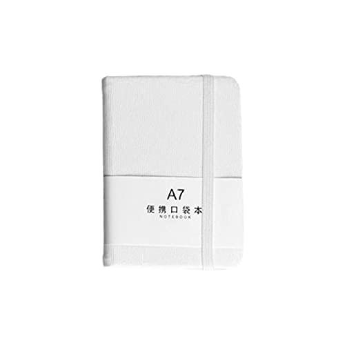 S-TROUBLE PU Notebook Bloc de Notas A7 A6 Notebook Papelería portátil Libro de Diario de Viaje Material de Oficina para Estudiantes Escritura