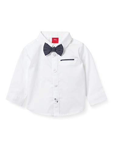 s.Oliver Junior Baby-Jungen 405.10.102.11.120.2062339 Hemd, White, 68
