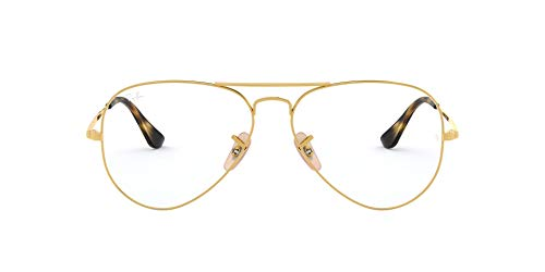 Ray-Ban 6489, Montature Unisex Adulto, Marrone (Gold), 55