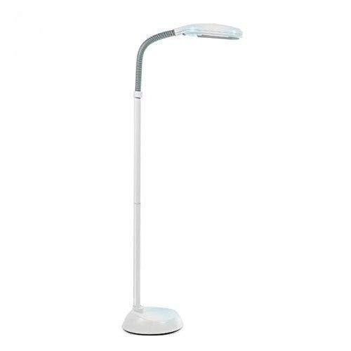 ARSUK Stehleuchte Tageslichtleucht, mit Leuchtstoffröhre 27W, Augenschonend, Energiesparend | Flexibler Lampenhals - 240V