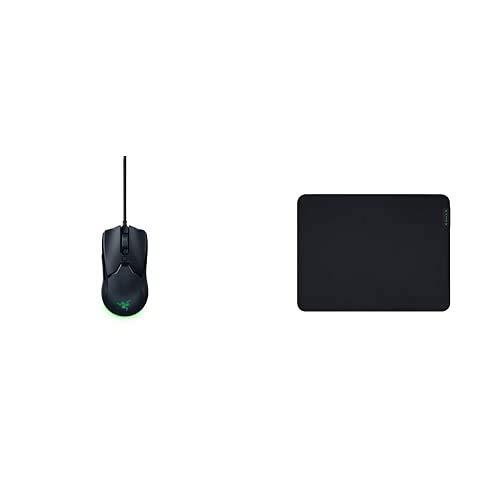 Razer Viper Mini: Ratón Gaming Ultra Luminoso (ratón ambidiestro Ultraligero para Juegos, Cable Speedflex) + Gigantus V2 Medium, Alfombrilla para Juegos para Estilos de Juego rápidos y Control óptimo