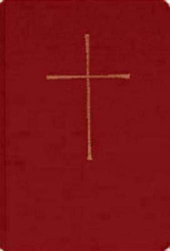 Book of Common Prayer Chapel Edition: Red Hardcover