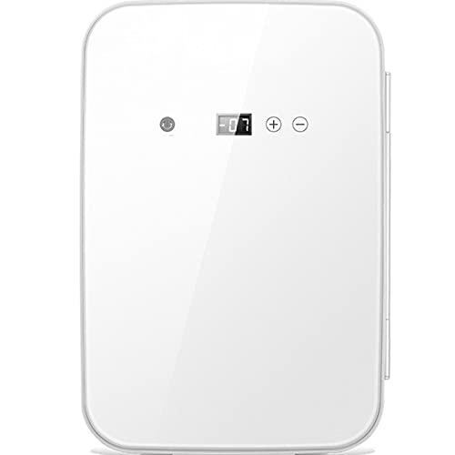 LYZL Mini Nevera De 8 L, Nevera Portátil para Oficinas, Dormitorio De Estudiantes, Coches, Dormitorios, Función De Calentamiento Y Enfriamiento, Alimentación De CA/CC