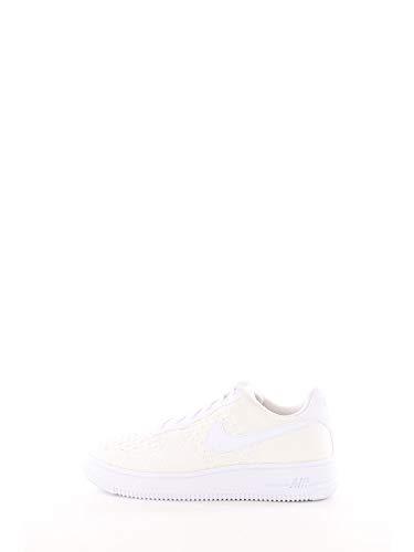 Nike Jungen Air Force 1 Flyknit 2.0 (gs) Basketballschuhe, Weiß (White/White/White 100), 32 EU