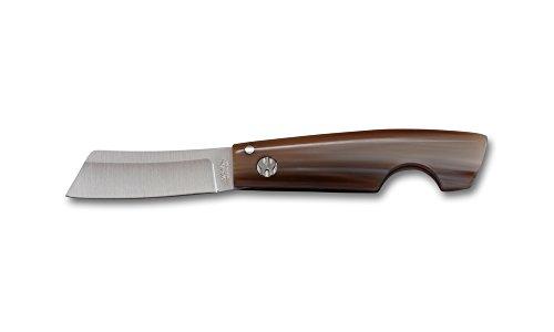 Messer Saladini Zigarrenschneider Rasiermesser handgemachte Klinge geschmiedet Olivenholz