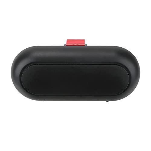 MITANG Star Firm Titular de Las Gafas de Visera del Sol Ajuste para la Caja de Gafas Interior del automóvil Abdominales Caja de Gafas de Sol Protección de Terciopelo de Fibra incorporada