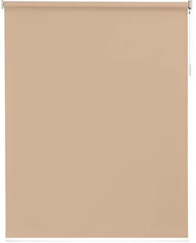 sunlines Akku-Rollo nach Maß, Polyester, Creme, Breite bis 140 cm x Höhe 180 cm