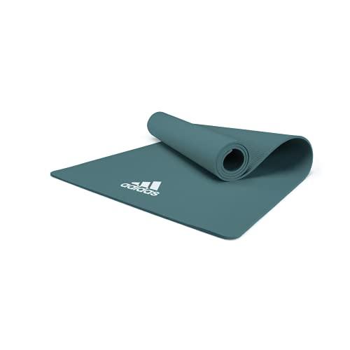 adidas, Tappetino Yoga Unisex-Adult, Raw Verde, 8 mm