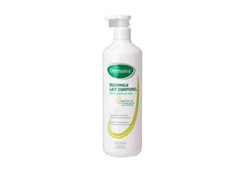 Dermalex Body Milk Körpermilch hydratisierende Lotion für empfindliche und trockene Haut 500 ml