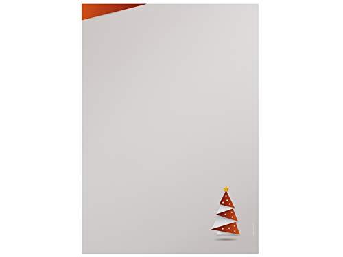 'Navidad Papel de carta Origami Rojo, 100hojas DIN A4con Gratis Download folleto