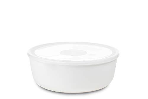 Mepal 102762030600 Schale mit Deckel volumia 2 L, Plastik, Weiß