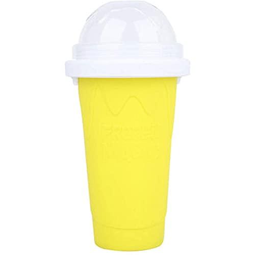 Congela las bebidas Copa de silicona Portátil Mildeo casero Helado Helado Fabricante para bebidas de jugo de verano