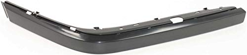 Bumper Trim Molding compatible with BMW 7-Series 95-01 Front RH Outer Cover Plastic Primed Right Side