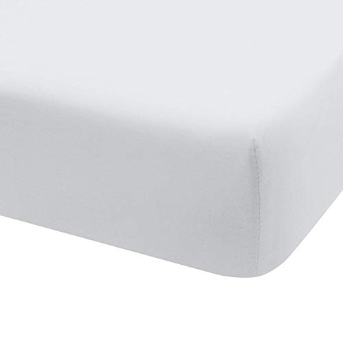 Hoeslaken Jersey 100% Katoen voor bed 180x190 / 200 wit