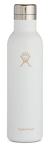 Hydro Flask, borraccia da 25 oz, in acciaio inox e isolamento sottovuoto, tappo a prova di perdite, vari colori Casual 25 oz (749 ml) Standard Mouth Infradito colorati estivi, con finte perline