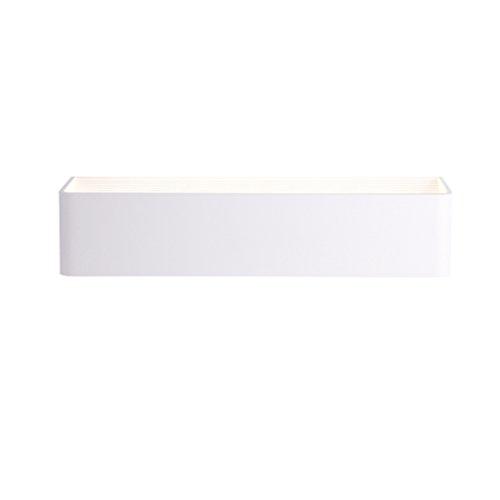 Applique Murale Lampe de Mur de Chevet LED Lampe de Chevet de tête de Chambre à Coucher Nordic Moderne Rectangulaire Murale (Taille : 20 * 8cm)