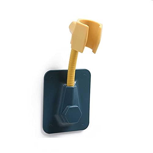 MLZWS Soporte de Cabezal de Ducha Ajustable sin Alcohol para baño Se Adapta a la rotación de 360 Grados. (Color : Black)