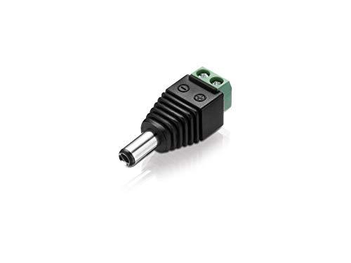 Adapter DC-Hohl-Stecker 5,5 x 2,5 mm/zweipoliger Terminal-Block, 1 Stück