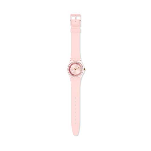 Swatch Reloj Analógico para Mujer de Cuarzo con Correa en Silicona GP164