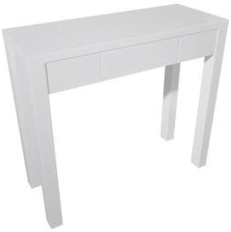 Karen Hall Console Table - High Gloss White