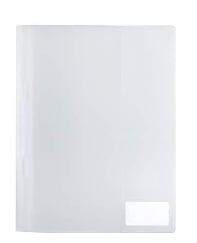 Preisvergleich Produktbild HERMA 19486 Schnellhefter DIN A4 transparent aus abwischbarem und strapazierfähigem Kunststoff mit Beschriftungsetikett,  1 Sichthefter aus PP-Folie