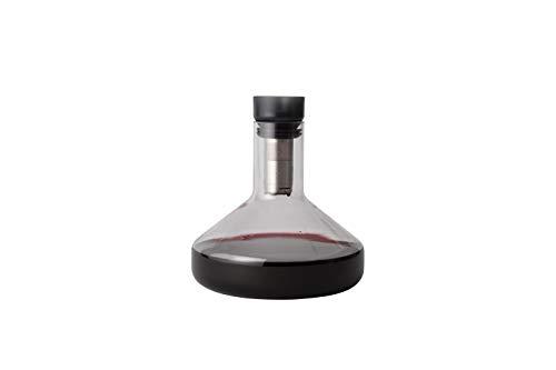 Coniglio KCR2–14235pura sistema set decanter con aeratore per vino imbuto, vetro, trasparente