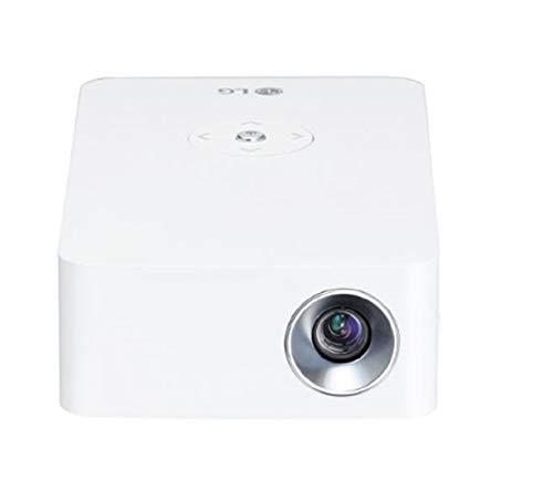 LG Beamer PH30N bis 254 cm (100 Zoll) CineBeam LED HD Projektor (250 Lumen, integrierter Akku, leichtes Gehäuse) weiß