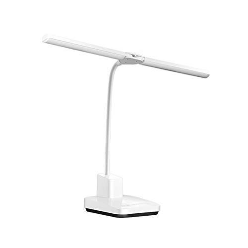 Lámpara de mesa Lámpara de escritorio de la lámpara de la lámpara de la lámpara de la lámpara de la lámpara dimmable continua con la lámpara de la tabla de control táctil de 3 modos de color con el pu