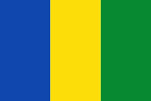 magFlags Bandera Large Forma Rectangular con proporción 2 3 con Tres Franjas Verticales de Igual Anchura de Colores Azul   Bandera Paisaje   1.35m²   90x150cm