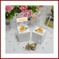 bb-10 Shop Tischkarte Stuhl 6er Pack/Tischkartenhalter geeignet zum Bonbonieren als Gastgeschenk