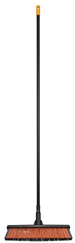 Fiskars Solid Allzweckbesen mit PowerClean-Borsten, Länge: 1,7 m, L, Schwarz/Orange, 1025926 - 4