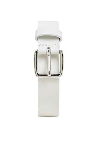 ESPRIT Accessoires 999ea1s802 Cintura, Bianco (White 100), 3 (Taglia Produttore: 75) Donna
