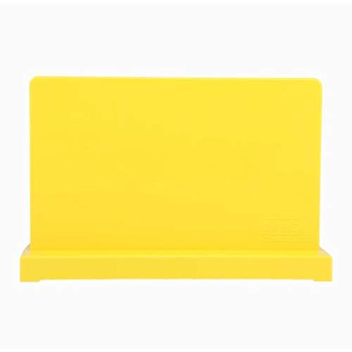 Almacenamiento magnético de Hierro magnético de Piedra Cuchillo de Cocina Estante Cocina IKEA Suministros Nordic Taiwan portaherramientas Vertical (Color : Yellow)