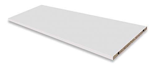 Dekati Einlegeboden für alle Sideboards & Lowboards mit Einer Breite 1800 cm | Farbe: Weiß | Größe: 86,6 x 31,6 cm | inkl. 4X Bodenträger | Höhe flexibel änderbar
