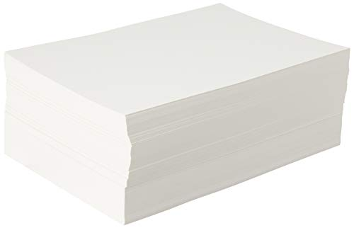 Canson 100511158 XL Series Watercolor Paper Bulk Pack for Wet and Dry Media, 90 Pound, 9 x 12 Inch, 500 Sheets, 9'X12', 0