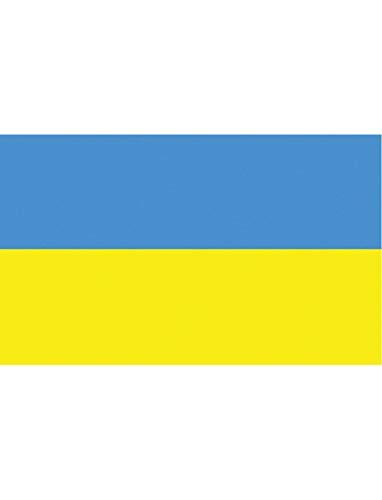 "TrendClub100® Fahne Flagge ""Ukraine UA"" - 150x90 cm / 90x150cm"