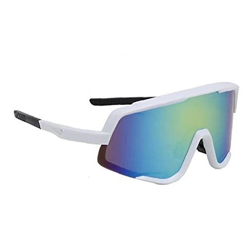 Gafas De Sol Deportivas Polarizadas Gafas De Montar Gafas De Gafas para Hombres Pesca De Ciclismo Blanco
